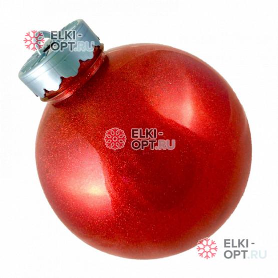 Шар d-15см цвет красный блестящий (36шт х 170руб)
