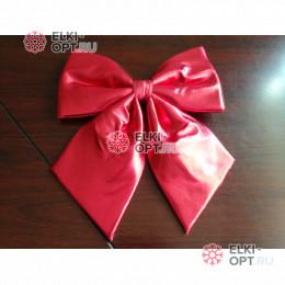 Бант 60 см Блестящий цвет красный