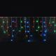 Занавесы бахрома LED