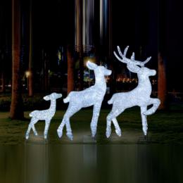 Световые акриловые фигуры 3D