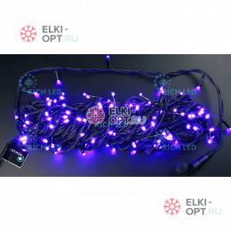 Светодиодная гирлянда Нить 20 М, 220В, постоянного свечения (фиолетовый)