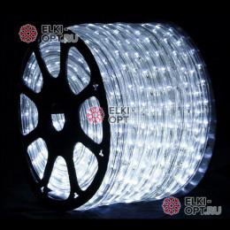 Дюралайт цвет белый d-10,5мм  50м трехжильный (чейзинг), 220V