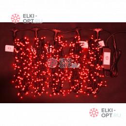 Гирлянда Клип Лайт 5 лучей по 20 метров цвет красный (3 шт х 7650руб)