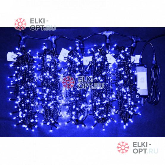 Гирлянда Клип Лайт 5 лучей по 20 метров цвет синий (5 шт х 8 000руб) IP54