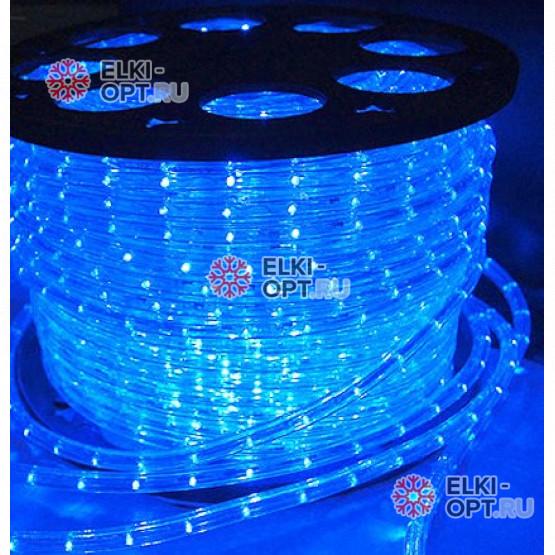 Дюралайт LED цвет синий 100м d-13мм постоянное свечение двухжильный