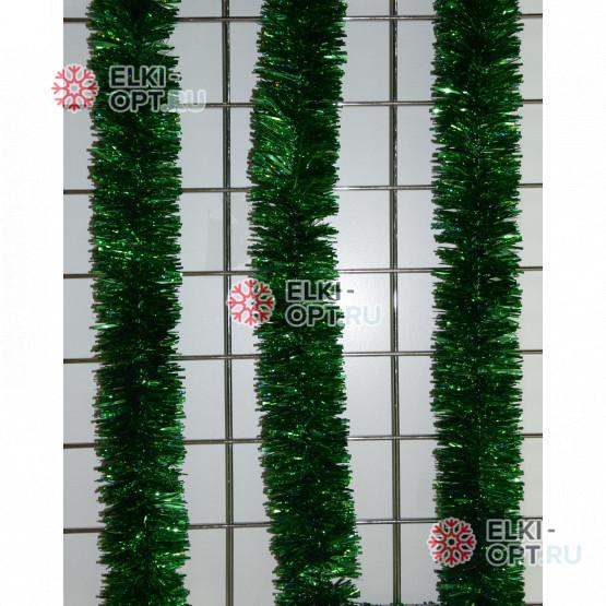 Мишура Сибирская d-5см цвет зеленый длина 2м 100шт х 47руб