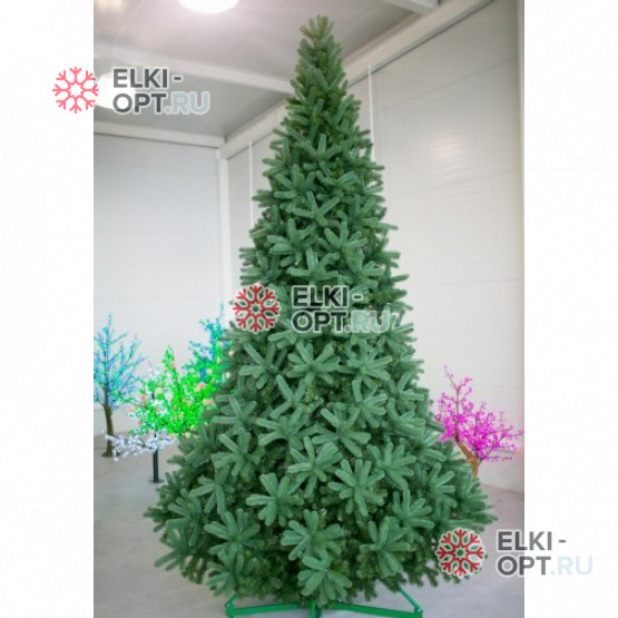 Ель интерьерная Европейская премиум цвет зеленый от 3-8м