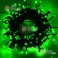 Светодиодная гирлянда цвет зеленый 24V 10м постоянное свечение (10шт*935р) IP44