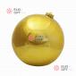Шар пластиковый 15см цвет золотой глянец (1шт/уп)