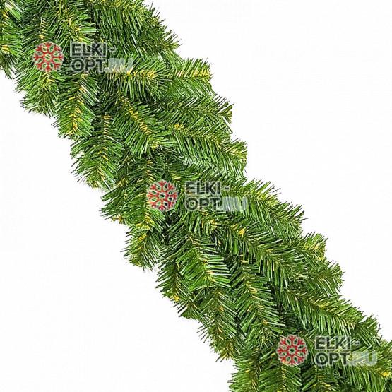 Гирлянда хвойная d-15см  длина 2,7м цвет зеленый