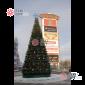 Ель каркасная Уральская цвет зеленый (пленка) от 4м - 30м