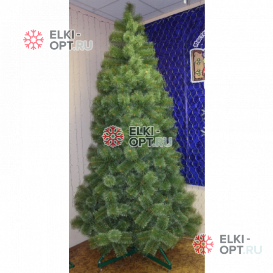 Сосна искусственная Таёжная 3м-6,5м цвет зеленый (леска)