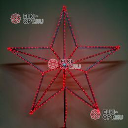Макушка Кремлевская эконом 50см цвет красный