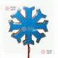 Макушка Снежинка цвет синий 60см - 100 см