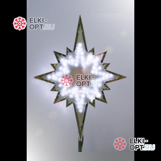 Макушка для большой ёлки Полярная звезда 60 см