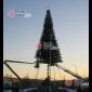 Демонтаж высотных елок