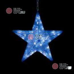 Светодиодная фигура Звезда LED (60*60*12 см) синяя
