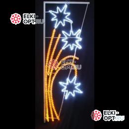 Фигура LED светодиодная Звездный фейерверк (85*175 см) 501-336