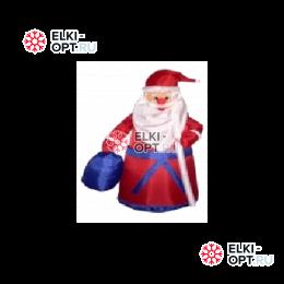 Надувная фигура Дед мороз с подарком 180см