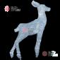 Световая Акриловая Фигура Олень -малыш цвет белый 95см