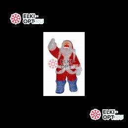Световая Акриловая Фигура Санта Клаус 210см 3D