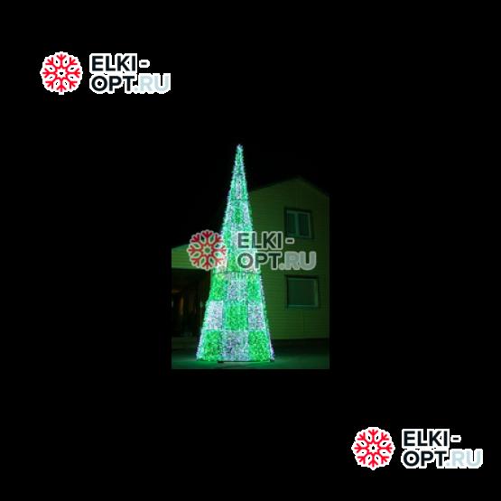 Световая конструкция Пирамида 4м
