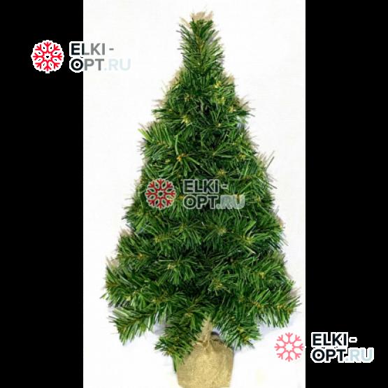 Ель искусственная Сибирская 60 см цвет зеленый
