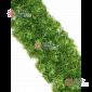 Еловая гирлянда d-28см цвет зеленый длина 2,7м