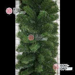 Еловая гирлянда цвет зеленый d- 40см длина 2,7м