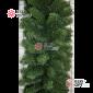 Еловая гирлянда d- 40см цвет зеленый длина 2,7м