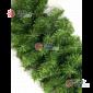 Гирлянда хвойная d- 40см длина 2,7м цвет зеленый  (300 веток)
