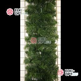 Еловая гирлянда цвет зеленый d-25 см длина 2,7м