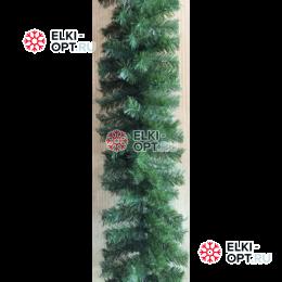 Еловая гирлянда цвет зеленый d-28см длина 2,7м