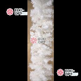 Еловая гирлянда цвет белый d-28см длина 2,7м