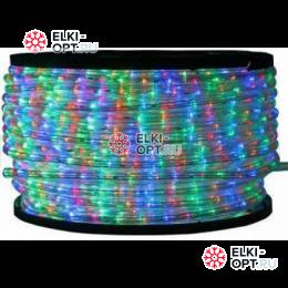 Дюралайт LED цвет мульти 100м d-10.5мм постоянное свечение двухжильный