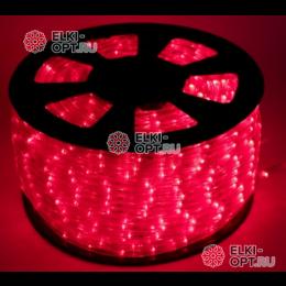 Дюралайт LED цвет красный 100м d-10.5мм
