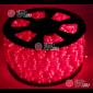 Дюралайт LED цвет красный 100м d-10.5мм постоянное свечение двухжильный