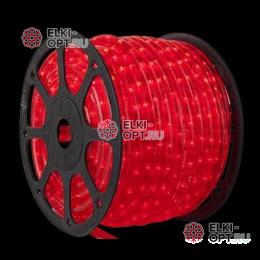 Дюралайт LED цвет красный 100м d-13мм