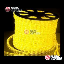 Дюралайт LED цвет желтый 100м d-13мм