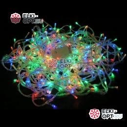 Светодиодная гирлянда 100LED цвет мульти 10м