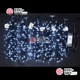 Светодиодная гирлянда Клип Лайт 5 лучей по 20м цвет белый 1000LED 24V