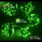 Светодиодная гирлянда Клип Лайт 5 нитей по 10м цвет зеленый постоянное свечение провод черный IP54 24V