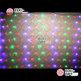 Светодиодная сетка 240LED цвет мульти 2х2м