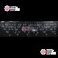 Светодиодная бахрома 3х0,5м цвет белый,провод чёрный, IP44, постоянное свечение