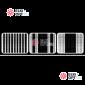 Светодиодный занавес 3х2,5м цвет белый, с горизонтальными переливами IP22, 800LED