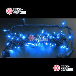 Светодиодная гирлянда  Rich LED нить 20 М, синяя, 220В, подключается контроллер