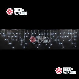 Светодиодная бахрома RICH LED (3х0.5 м) черный пров. цвет белый