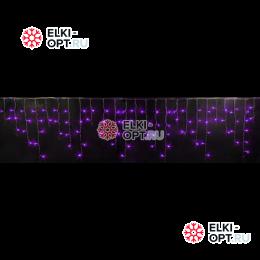 Светодиодная бахрома RICH LED (3х0.5 м) прозр.пров. фиолетовый