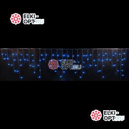 Светодиодная бахрома RICH LED (3х0.9 м) мерцающая прозр.пров. синий