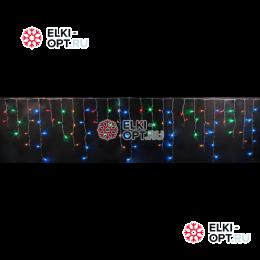Светодиодная бахрома RICH LED (3х0.9 м) мерцающая прозр.пров. мульти